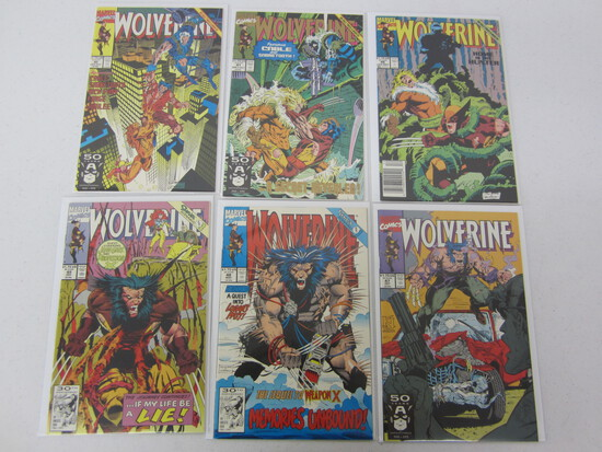 MARVEL COMICS X6 WOLVERINE'S - SEE DESCRIPTION/PICTURES!
