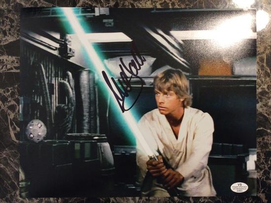 "Mark Hamill ""Luke Skywalker"" Star Wars Autographed 8+10 Photo with Certified COA"