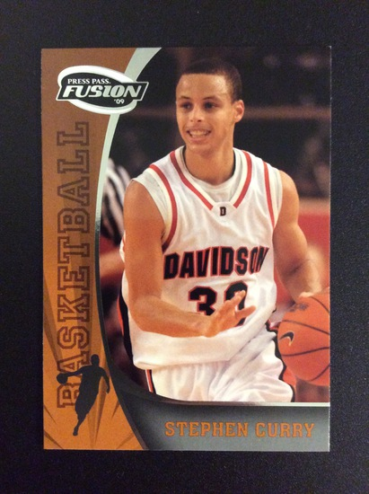 """2009 Press Pass Fusion Stephen Curry """"Rookie Card"""" RC Mint!"""