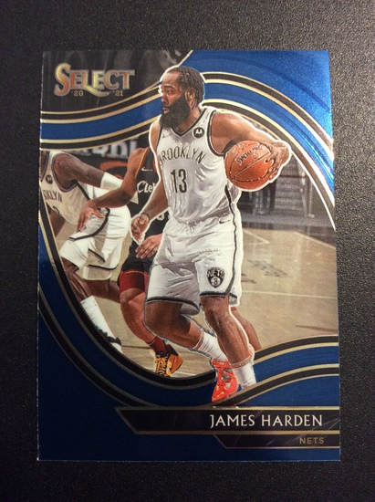 "2021 Select Basketball James Harden ""Courtside"" SP"