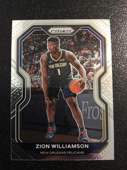 "2021 Prizm Basketball Zion Williamson ""2nd Year"""