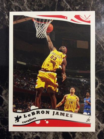 2005-06 Topps LeBron James Mint!