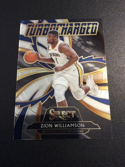 "2021 Select Basketball Zion Williamson ""Turbocharged"" 2nd Year"