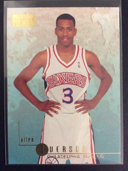 1996 Skybox Premium Allen Iverson RC