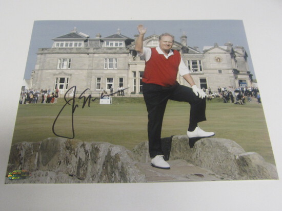 Jack Nicklaus signed 8x10 photo certified coa