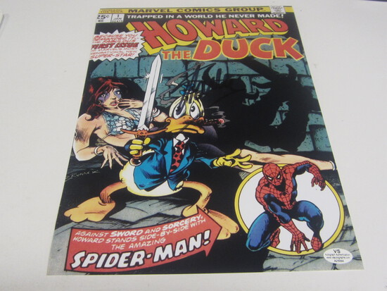 Stan Lee signed Comic book cover certified coa