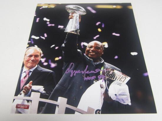 Ozzie Newsome signed 8x10 photo certified coa