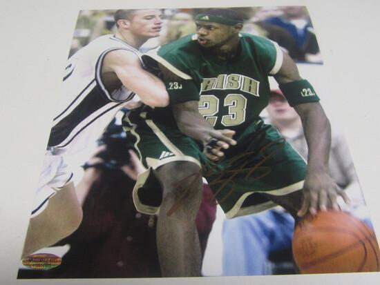 LEbron James signed 8x10 photo certified coa