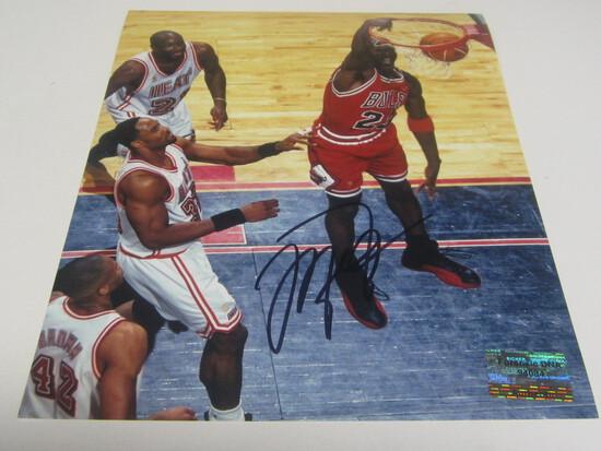 Michael Jordan signed 8x10 photo certified coa