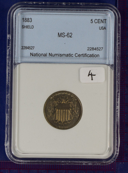 1883 Shield Nickel