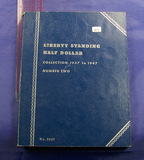 COMPLETE BOOK 2 Walking Liberty Half Dollars includes 1938-D