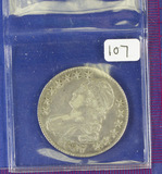 1827 (Square 2) Capped Bust Half Dollar