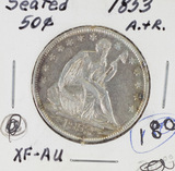 1853 Seated Liberty Half Dollar Arrows and Rays