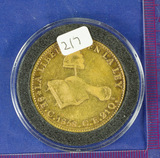 Mexico: First Republic 1858 -C GOLD Doubloon of 8 Escudos