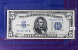 1934 $5 Silver Certificate STAR NOTE