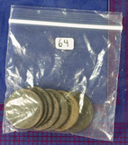 7 COINS: cull large cents