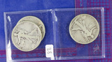 3 COINS: 1918 PDS all G