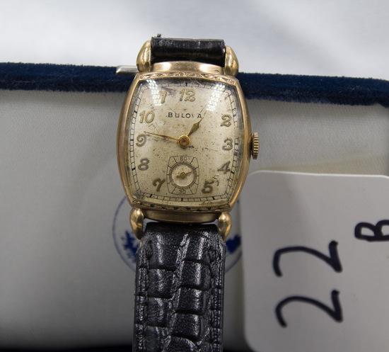 Bulova Wristwatch 17jw 1940's