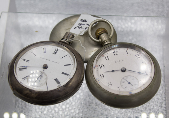 LOT of TWO: Elgin 18sz non runners