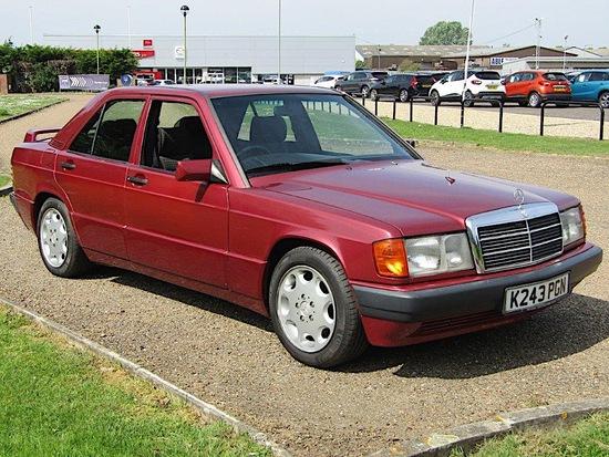 1993 Mercedes 190E 2.3 8V Sportline