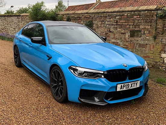 2019 BMW M5 Competition for a day