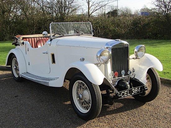 1936 British Salmson 4 Seat Tourer