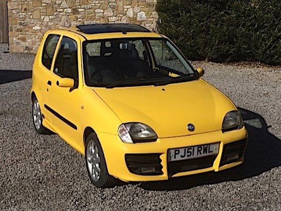 2001 Fiat Seicento Schumacher Edition