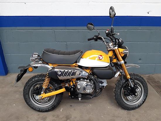 2019 Honda 125cc Monkey Bike Proceeds to East Anglia Air Ambulance