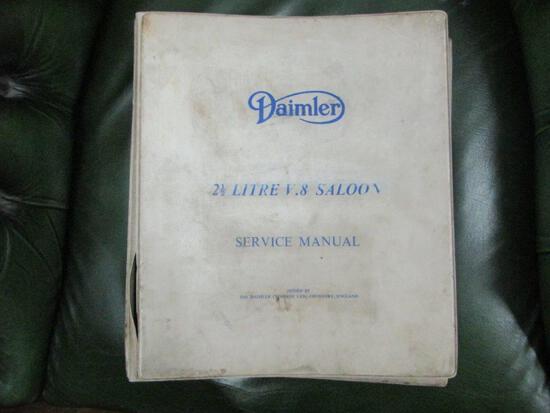 Daimler 250 V8 Factory service manual