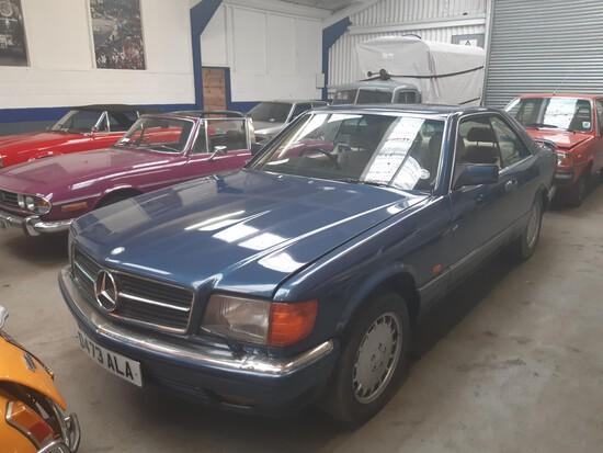1986 Mercedes W126 560 SEC