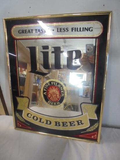 Miller Lite Bar Mirror