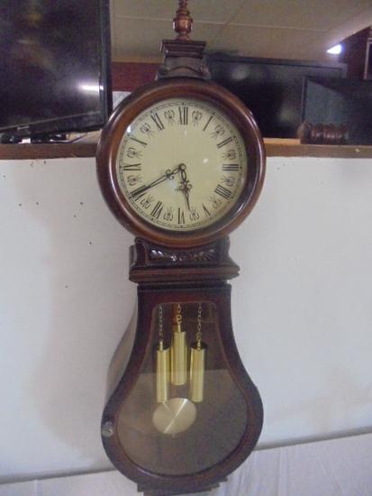 Wall Clock w/ Chimes