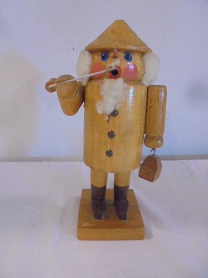 Holzkunst Christian Ulbricht Wood Incense Smoker Man