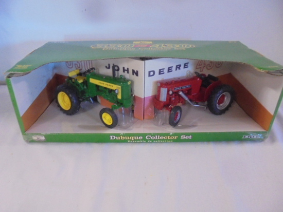 Ertl 1/16th John Deere 330 and 430 Dubuque Collector Set