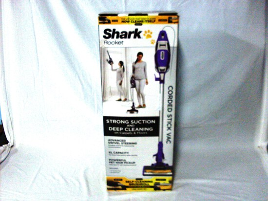 New Shark Rocket Stick Vac