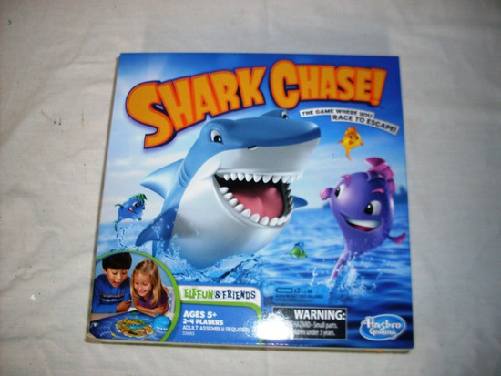 Shark Chase kids game