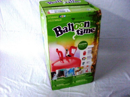Ballloon Time Helium Tank Kit