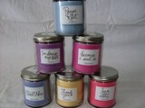 Scented 7 oz candles