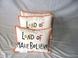 Set of 3 Land of Make Believe pillows