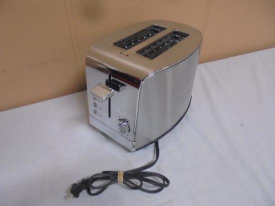 Krupps 2 Slice Stainless Steel Toaster