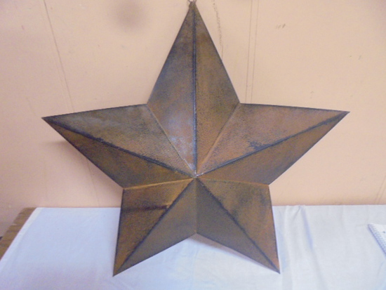 24 Inch Metal Country Star