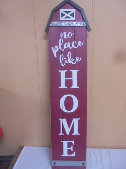 Wooden Barn Home Sign