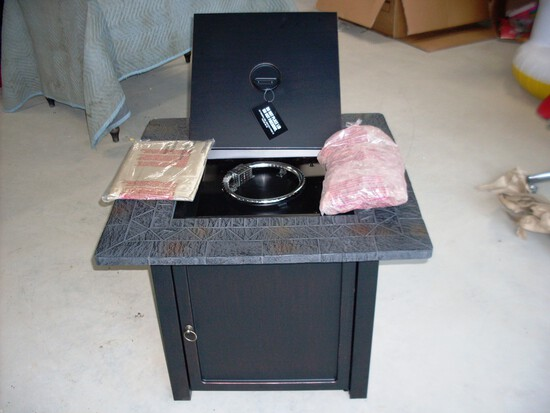 RockSprings Outdoor Gas Fire Table
