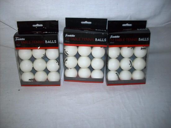 Franklin Table tennis Balls