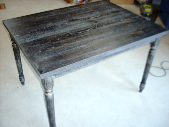 Weathered Grey Dining Table