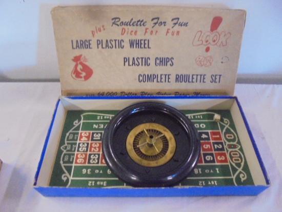 Vintage Roulette Set