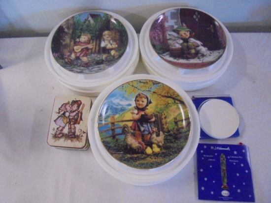 Group of Hummel Collectibles