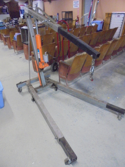 8 Ton Air/Manual Operated Cherry Picker Engine Puller