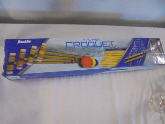 Franklin 4 Player Croquet Set