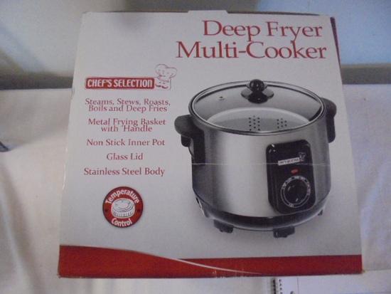 Chefs Selection Deep Fryer Multi-Cooker